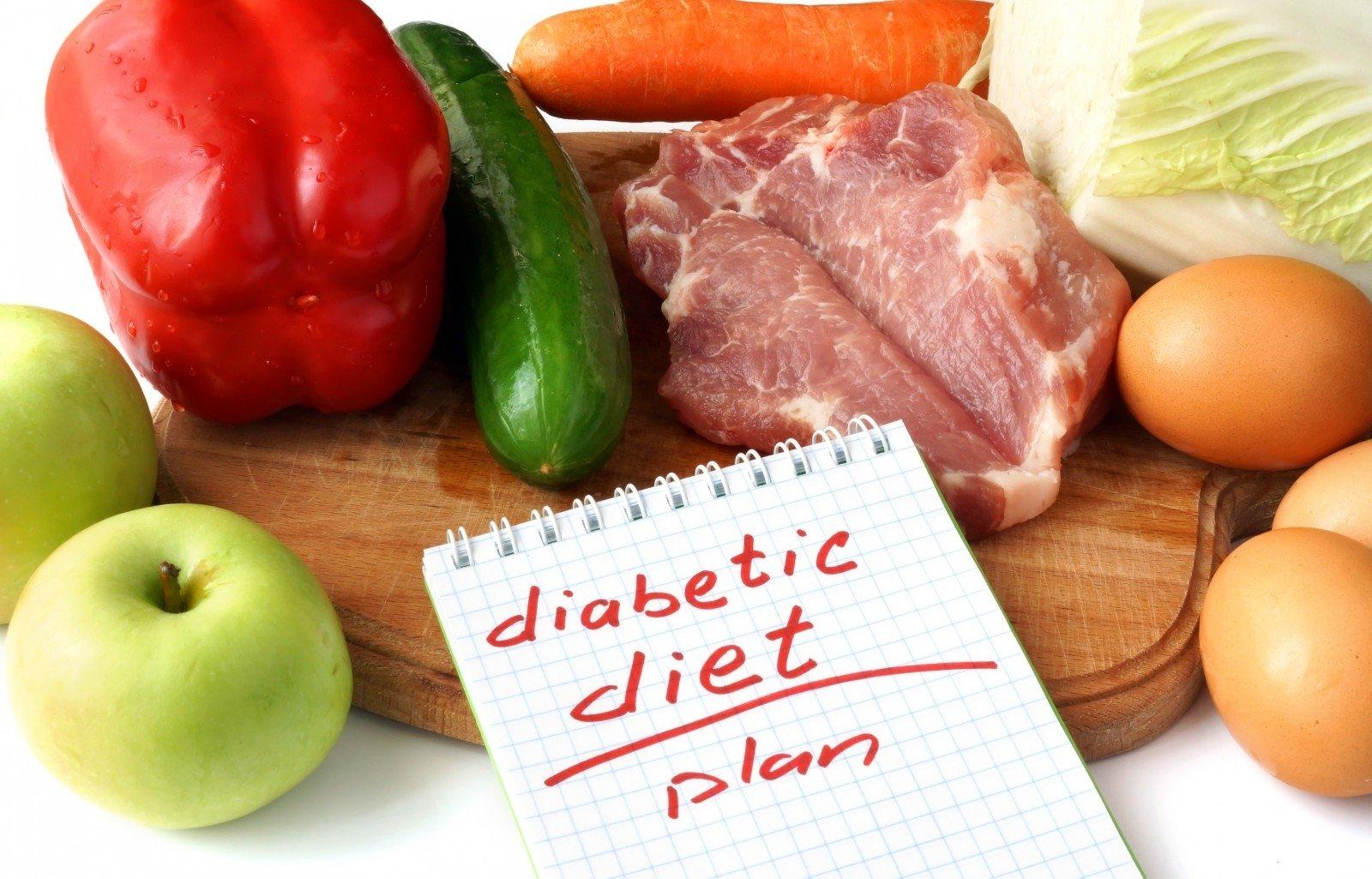 diabetikas, turintis dietos su hipertenzija)