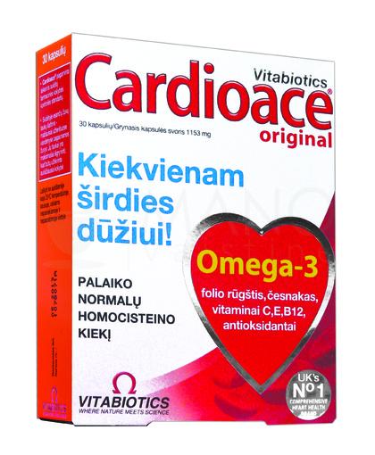 vitamino a ir širdies sveikata