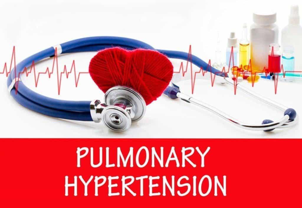plaučių hipertenzijos sindromas)