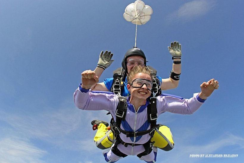 parašiutas ir hipertenzija