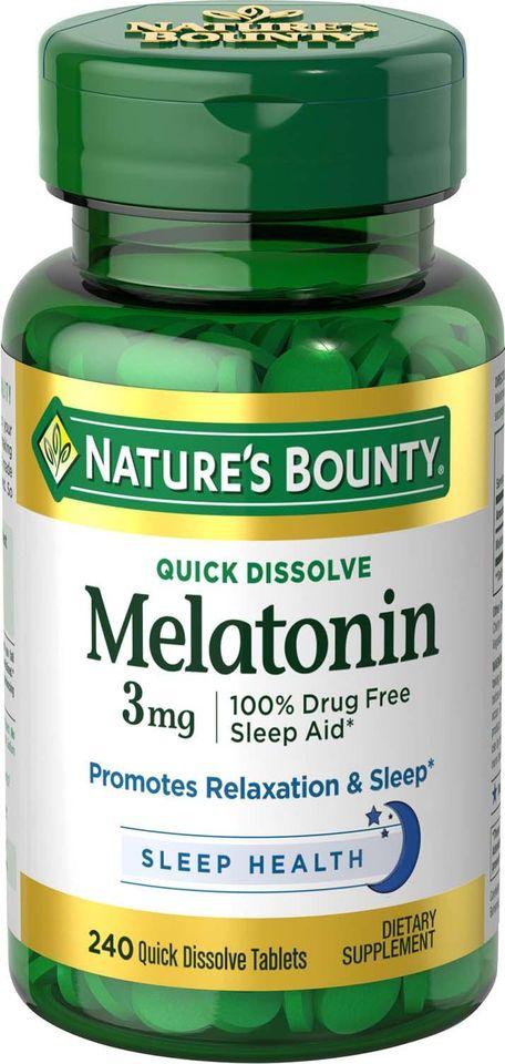 Melatoninas, preparatai, kurių sudėtyje yra melatonino - Onkologija November
