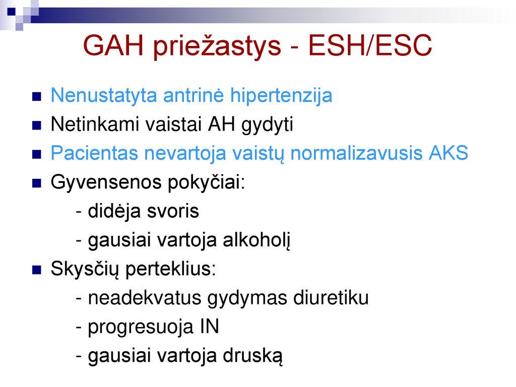 diuretikas kompleksiniam hipertenzijos gydymui)