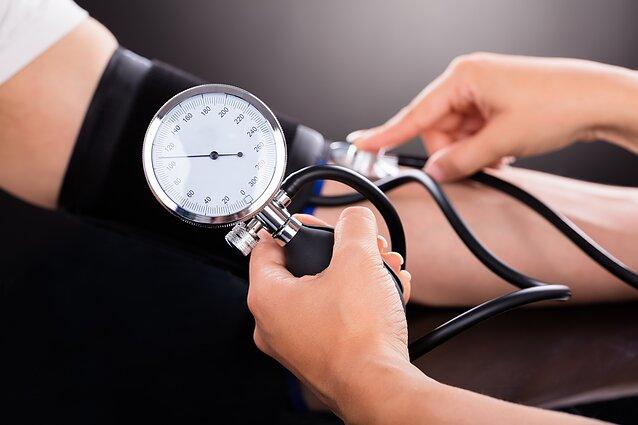 hipertenzija ir kraujo tyrimai