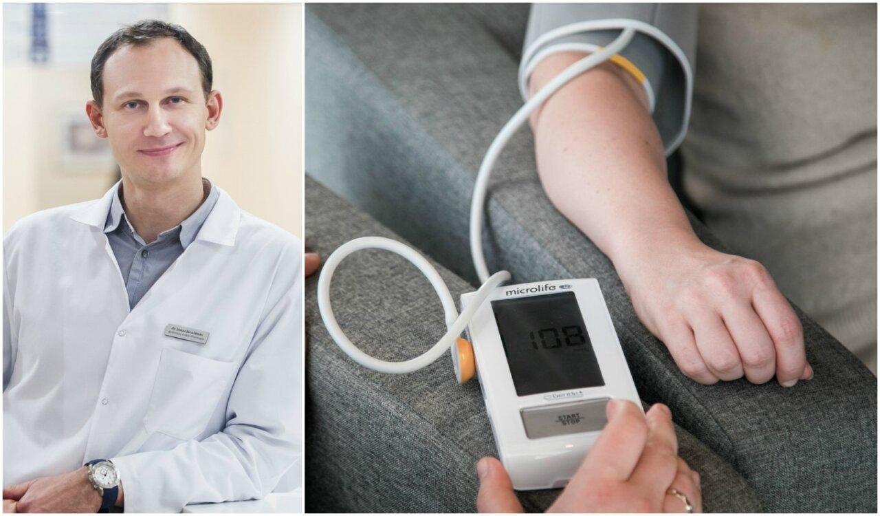 kaip palaikyti sveikatą sergant hipertenzija