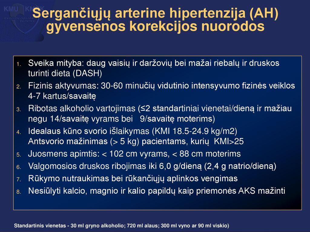 hipertenzija keliant jėgą