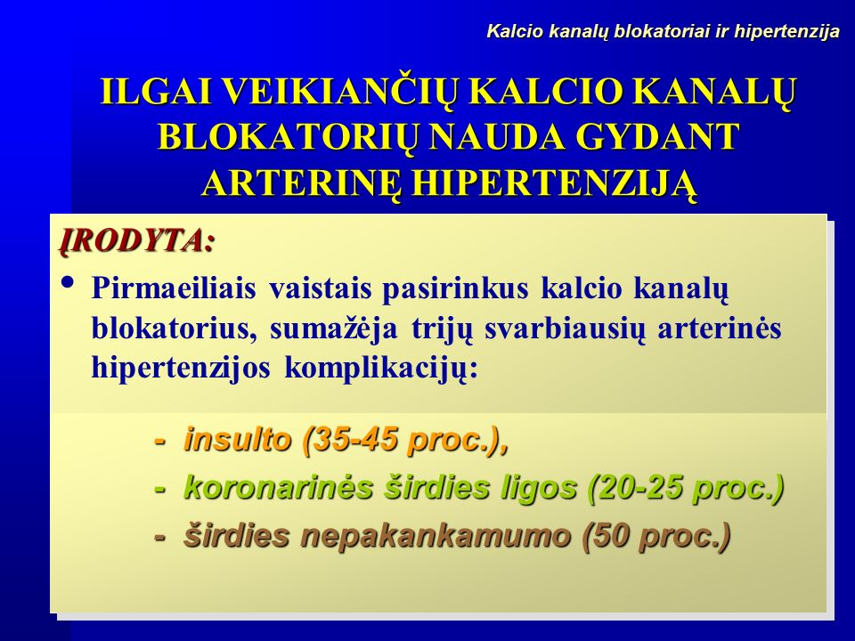 hipertenzija paskutinis etapas
