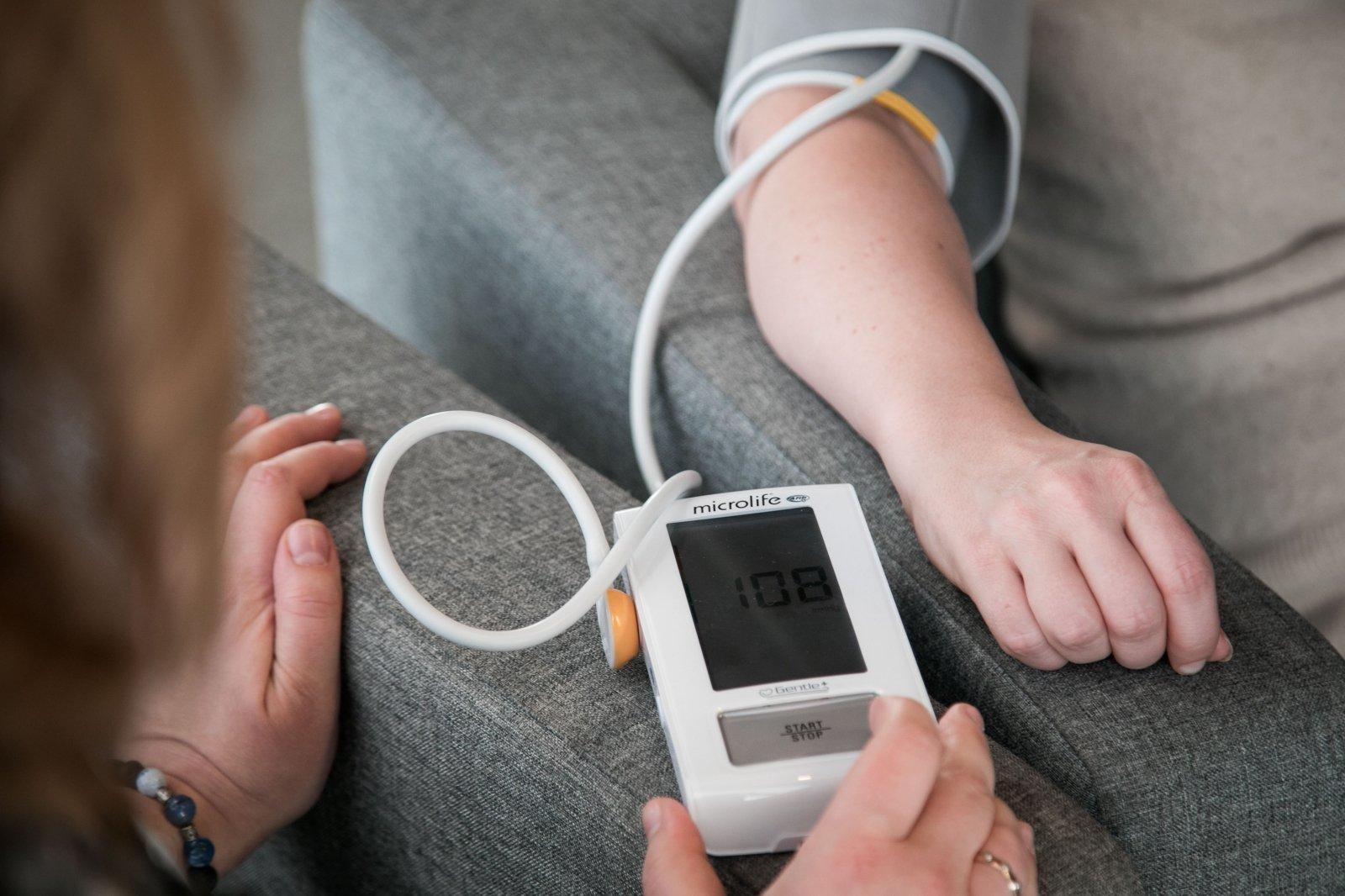 pažaboti hipertenziją