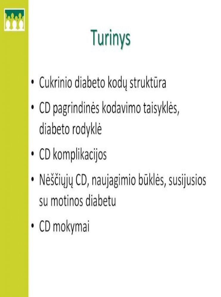 2 laipsnio hipertenzija ir cukrinis diabetas