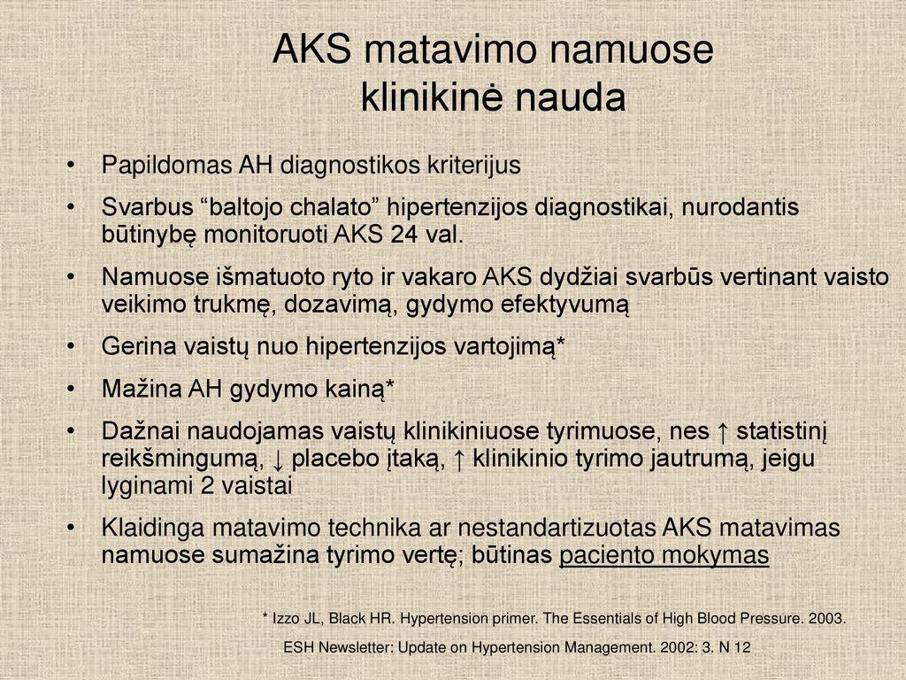 hipertenzija 3 laipsnių gydymas vaistais)