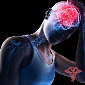 smegenų sukrėtimas hipertenzija)