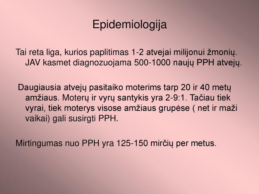 hipertenzija 40 metų moteris