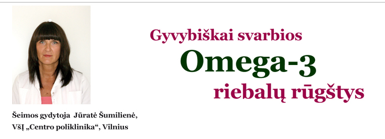 omega 3 teiginiai apie širdies sveikatą