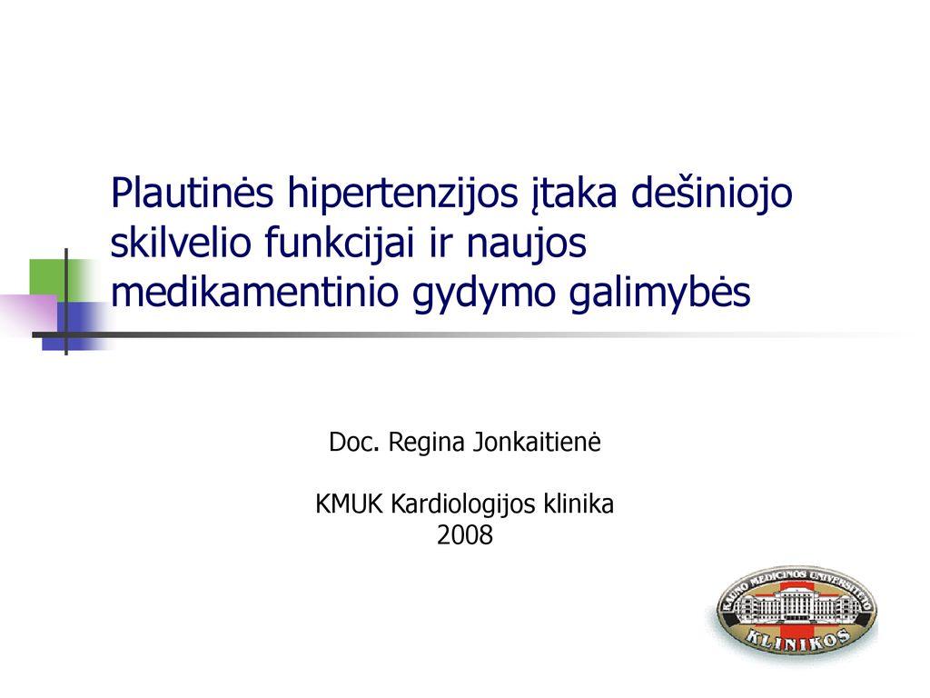 auskultacija dėl hipertenzijos