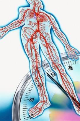 hipertenzija apatinis viršutinis slėgis)