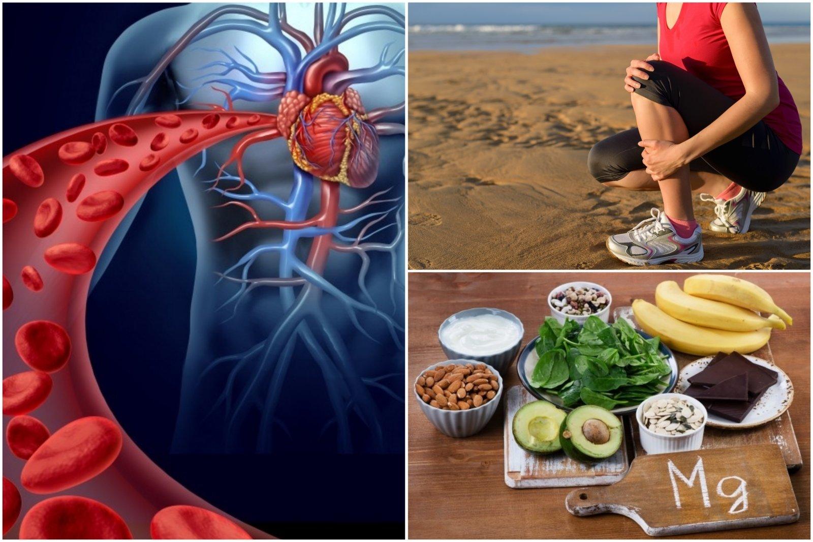 hipertenzija ir vandens trūkumas