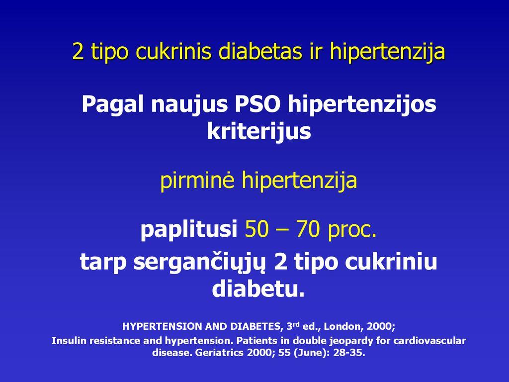 hipertenzijos atjaunėjimo priežastys antrojo laipsnio hipertenzija yra