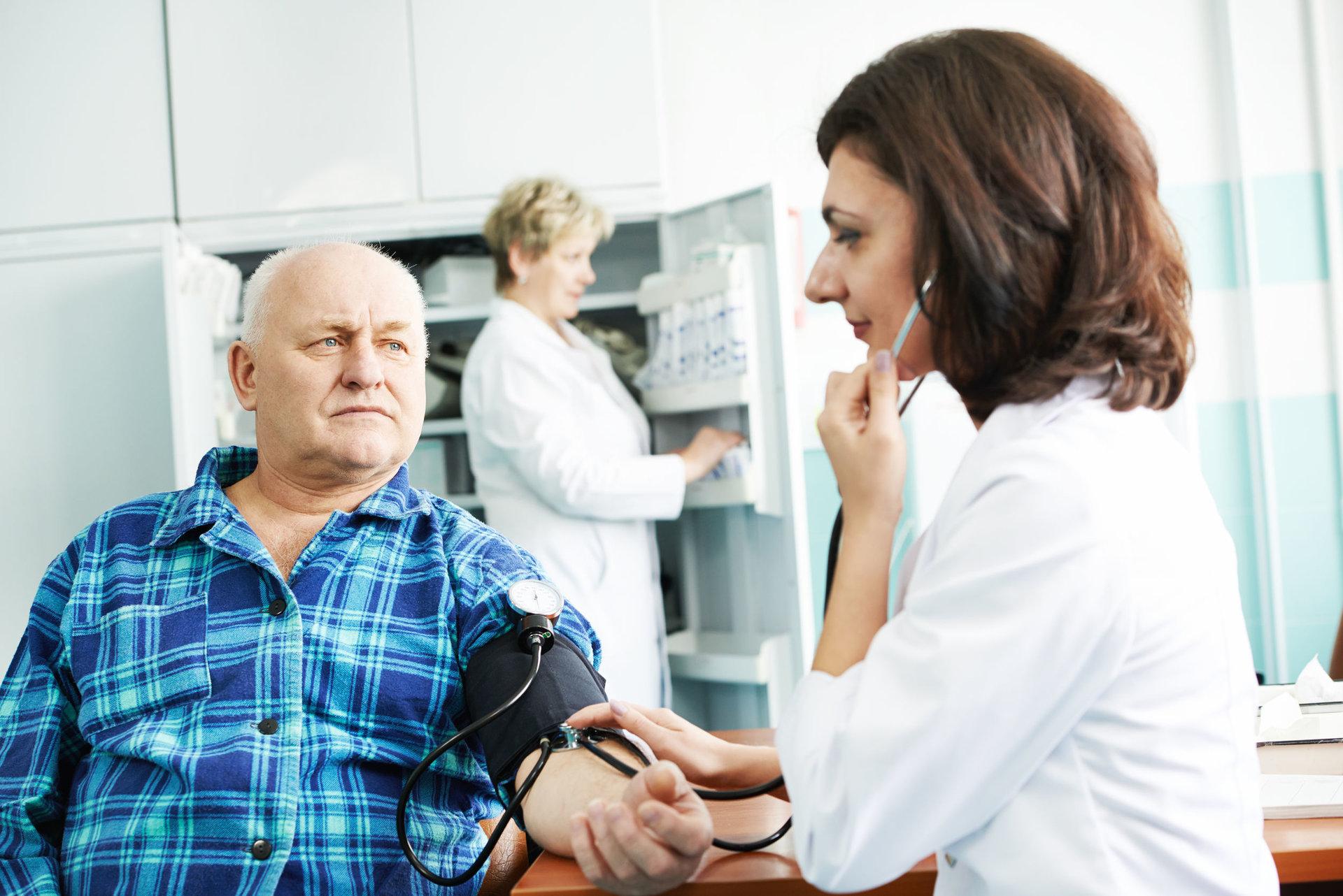 žmonių apžvalgos apie hipertenziją