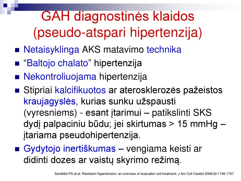 Arterinė hipertenzija ir hipertenzinė širdies, inkstų, smegenų liga | Medas