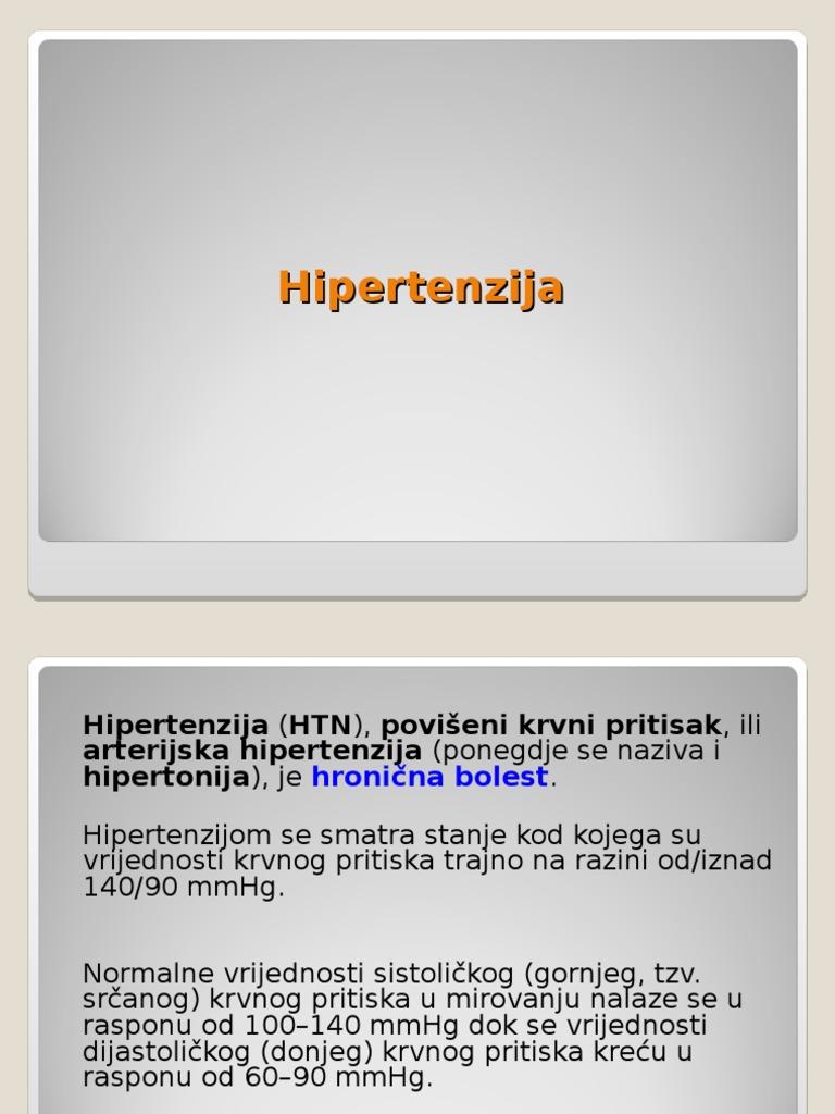 3 tipo hipertenzija 4 rizika