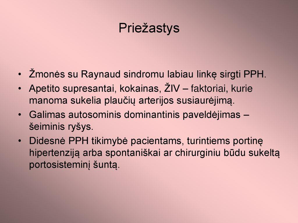 hipertenzijos susidarymo priežastis)