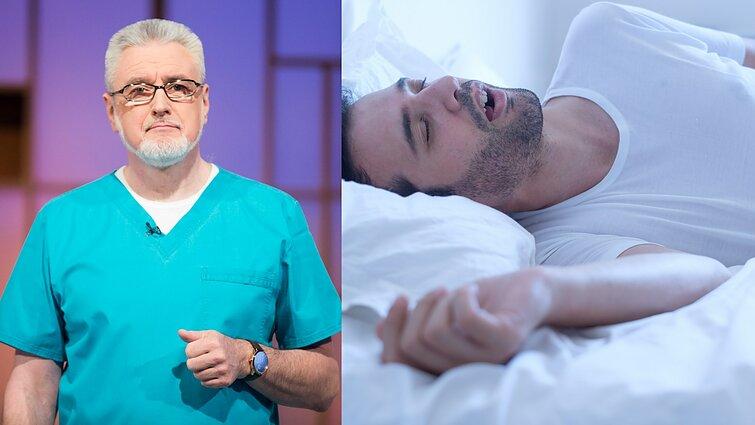 Miego apnėja gali būti mirtina