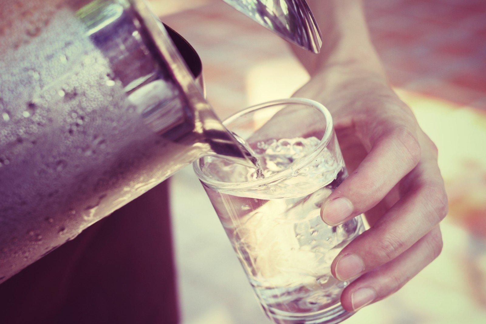 kiek vandens galite gerti per dieną sergant hipertenzija