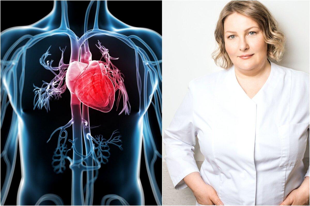 kokia yra širdies ligų rizika sveikatai