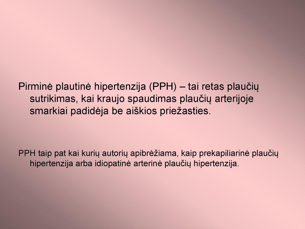 kas yra įgimta hipertenzija)