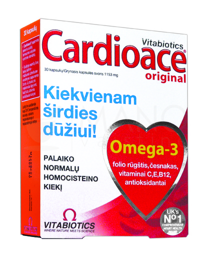 omega širdies sveikatai