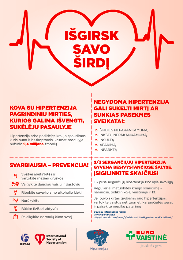 hipertenzija žmonėms