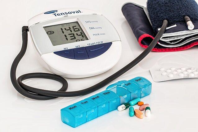 hipertenzija greitai sumažina kraujospūdį