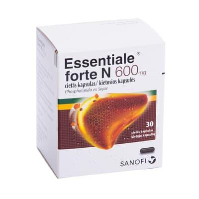 Essentiale forte sergant hipertenzija