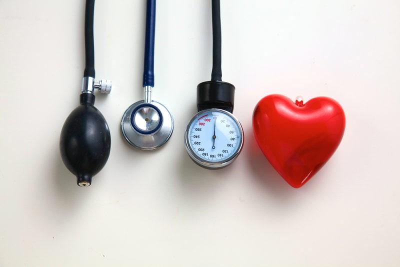 tachikardija gydant hipertenziją