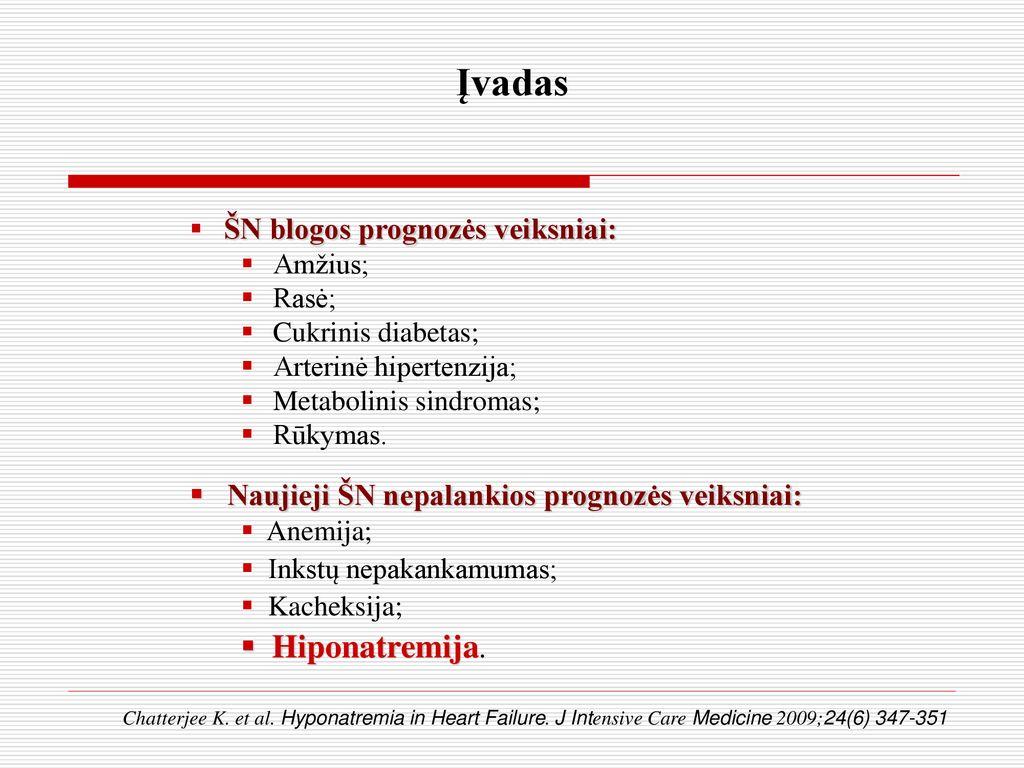hipertoninis tirpalas esant hipertenzijai