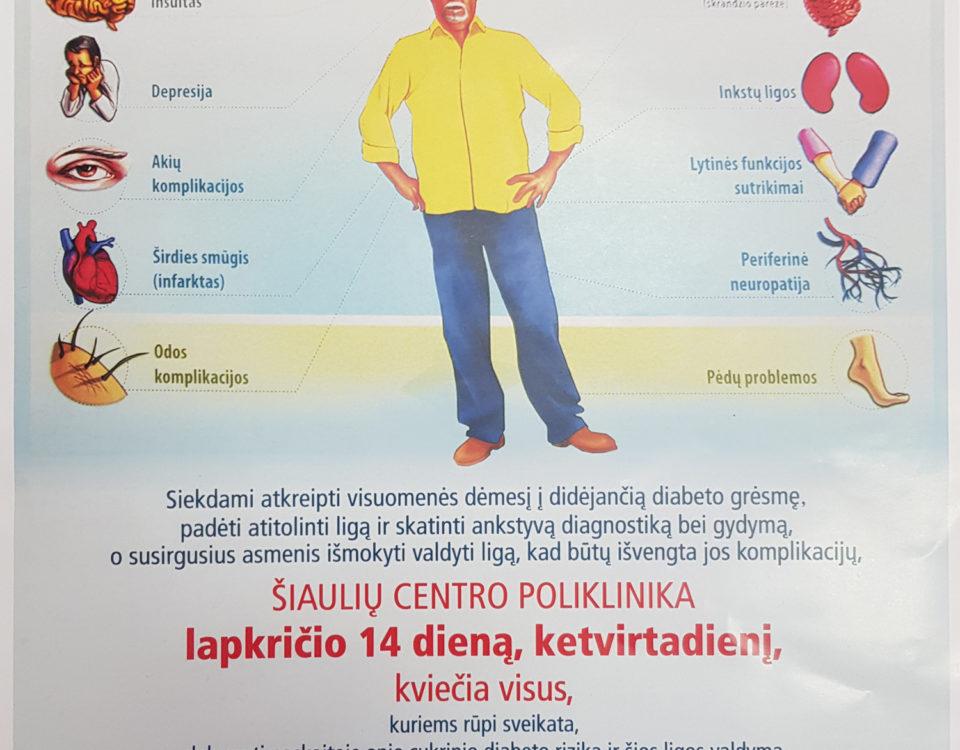 diabetikų hipertenzijos gydymas