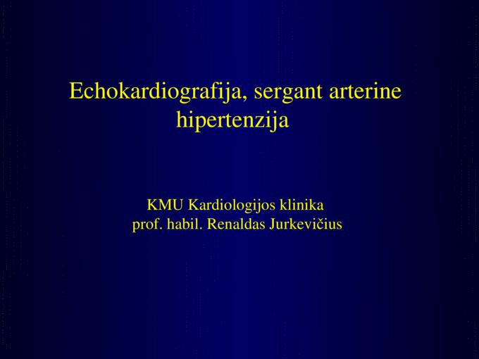 hipertrofija ir hipertenzija)