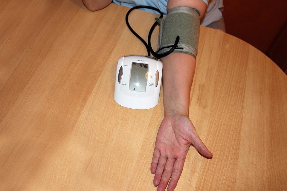 nardymas dėl hipertenzijos