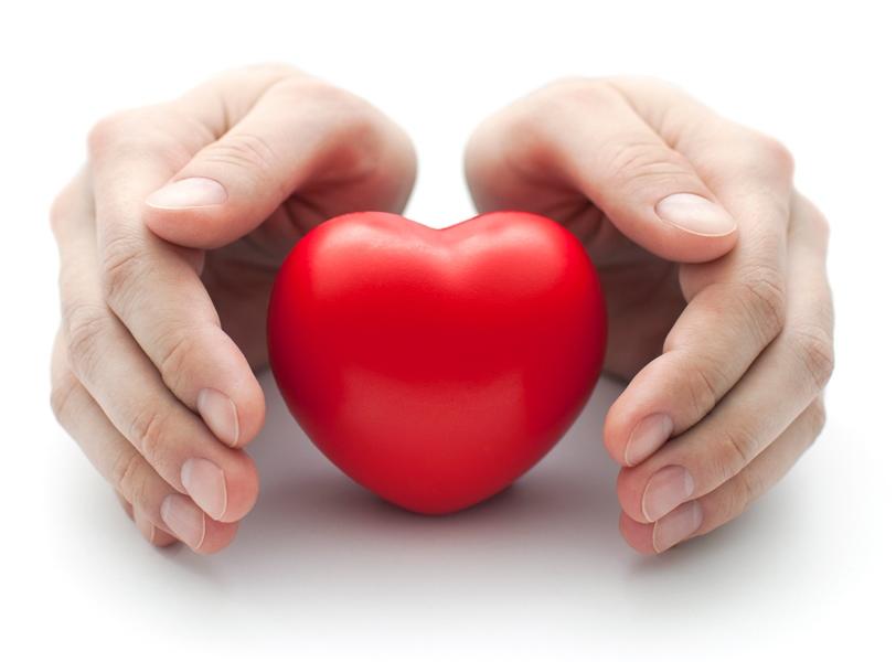 valgykite raudoną širdies sveikatai
