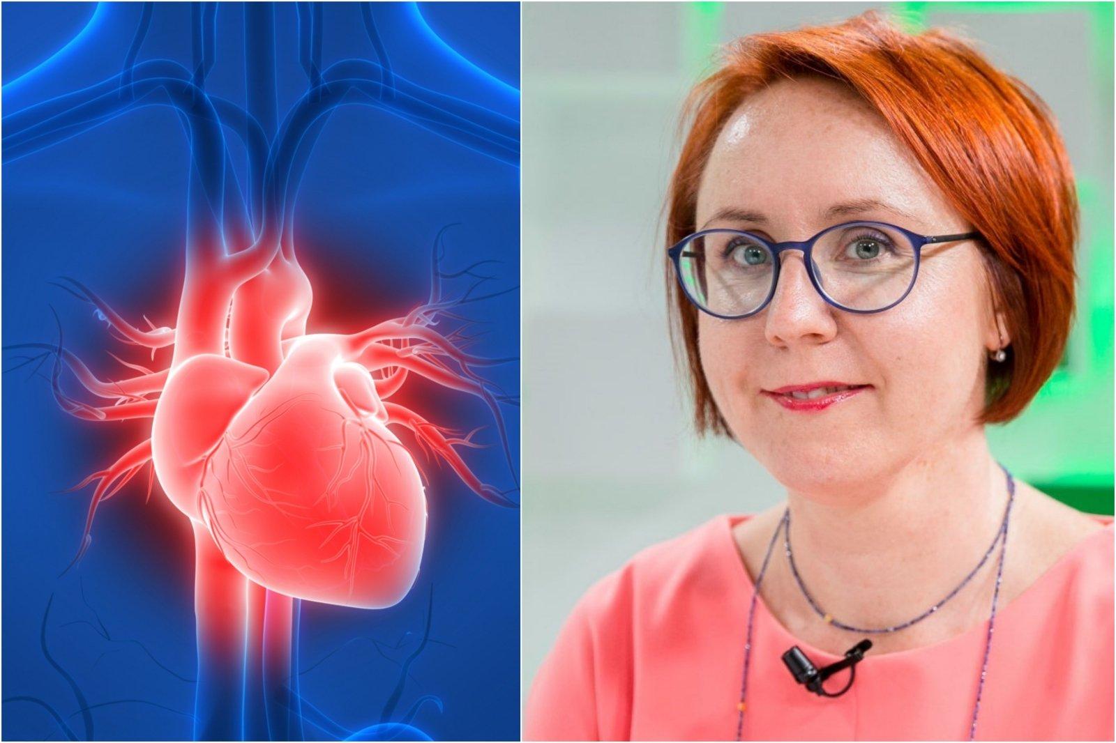 sveikatos skatinimas sergant širdies ligomis)