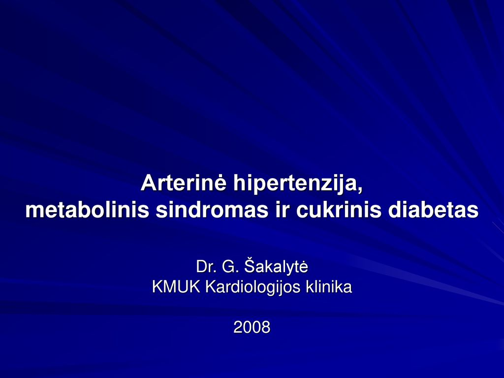 kalcio hipertenzijos stoka)