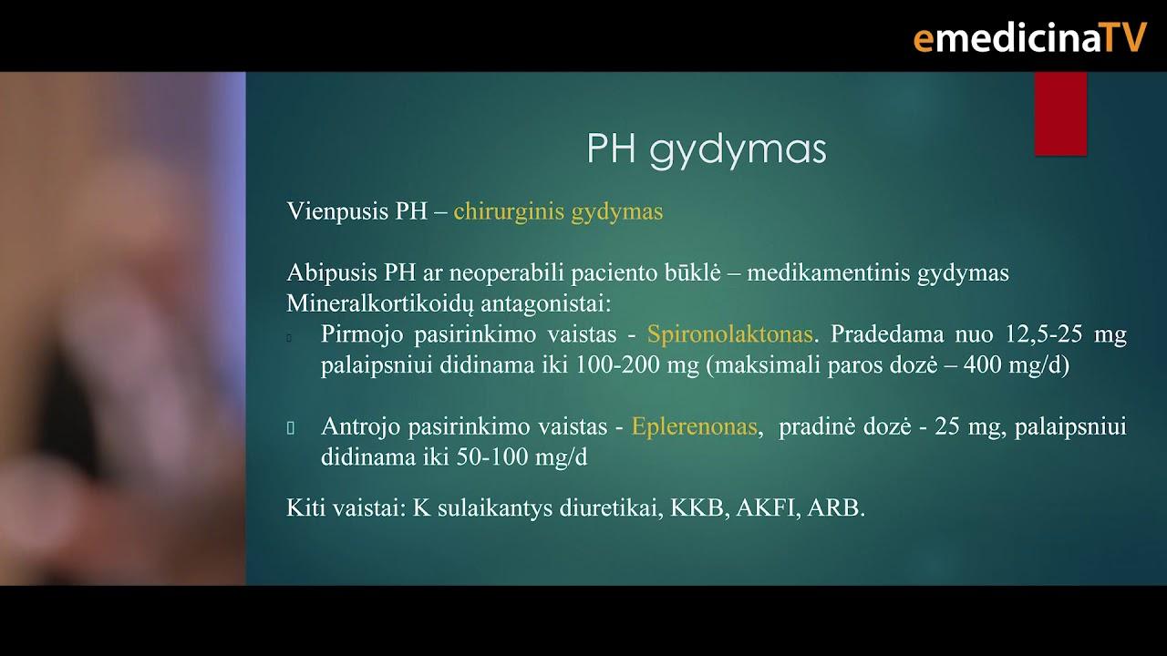 naujovės gydant hipertenziją)