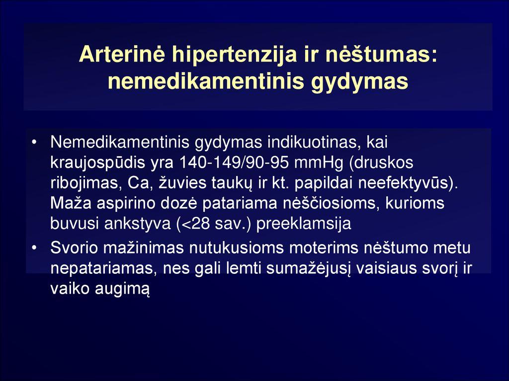 vitaminai moterims, sergančioms hipertenzija)