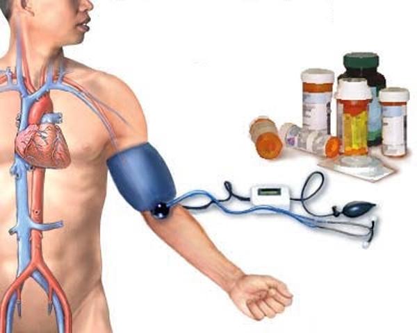 raugerškis ir hipertenzija