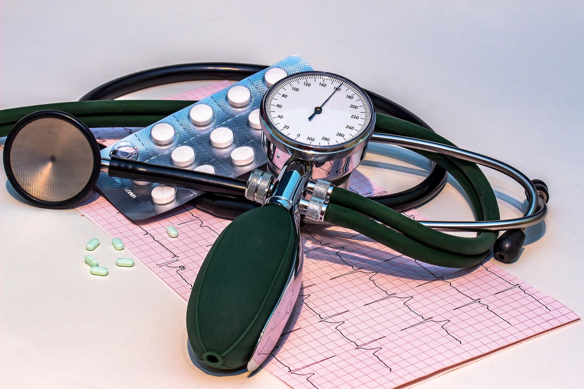 hipertenzijos priepuolis