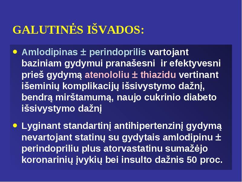amlodipino vartojimas hipertenzijai gydyti)