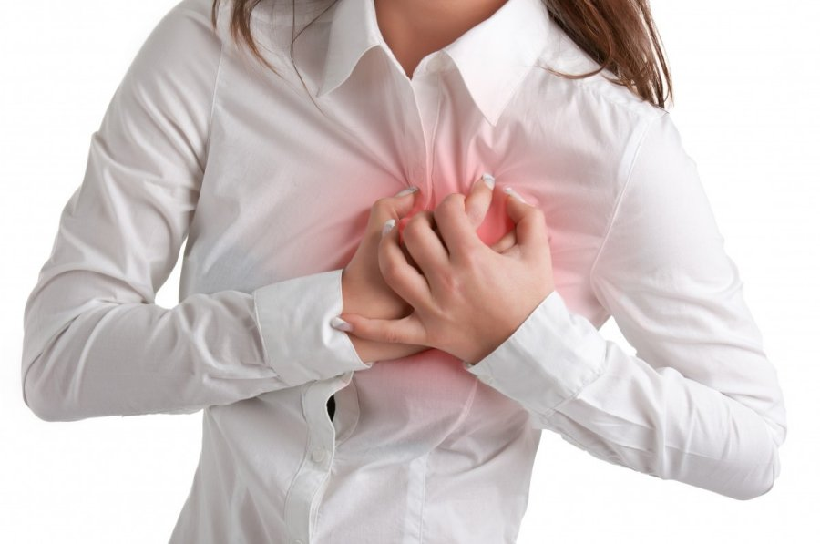 brūkšnys į širdies sveikatą