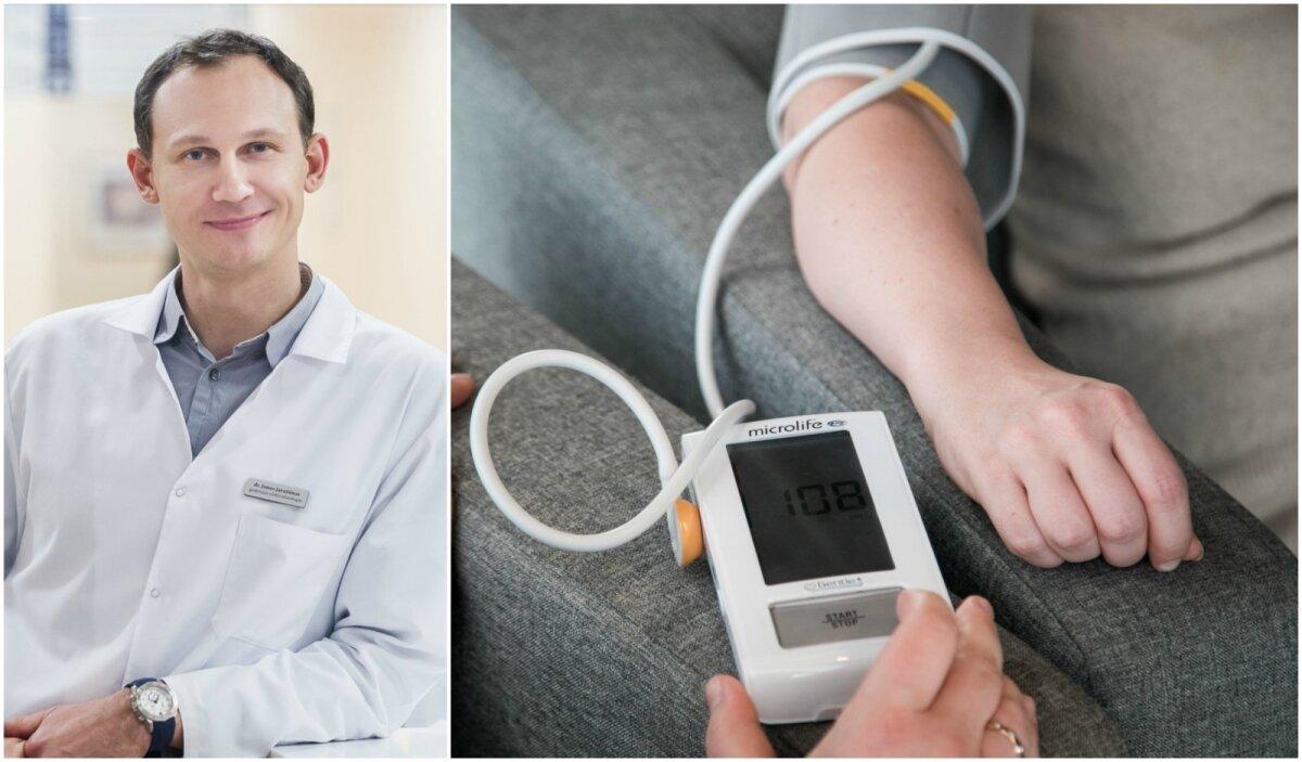 hipertenzija ir onkologinis hipertenzijos gydymas