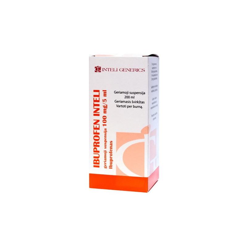 ibuprofenas nuo hipertenzijos gali