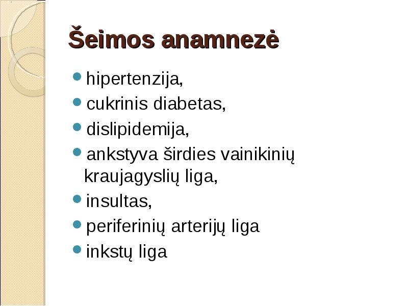 hipertenzijos rizikos lygis)