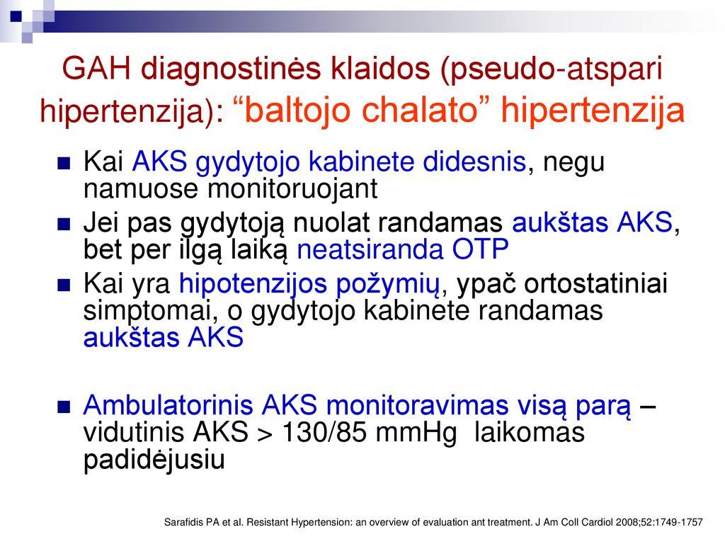 kodėl diuretikai yra hipertenzija)